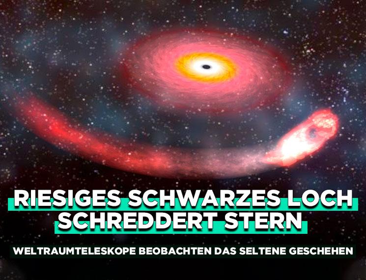 Größtes Schwarzes Loch Durchmesser