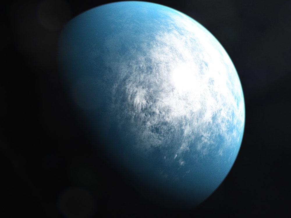 Bewohnbarer Planet