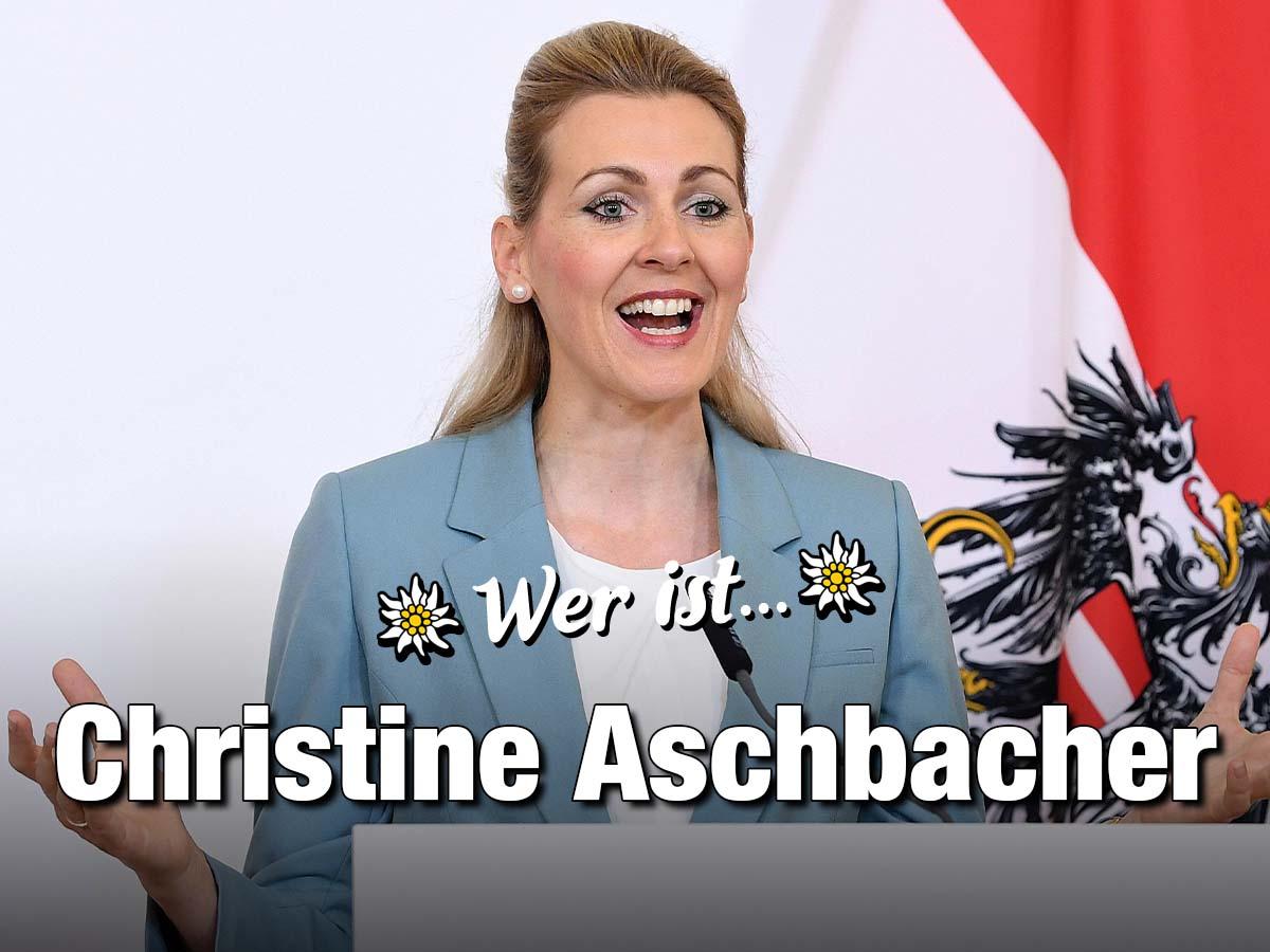 Wer Ist Christine Aschbacher Zackzack At