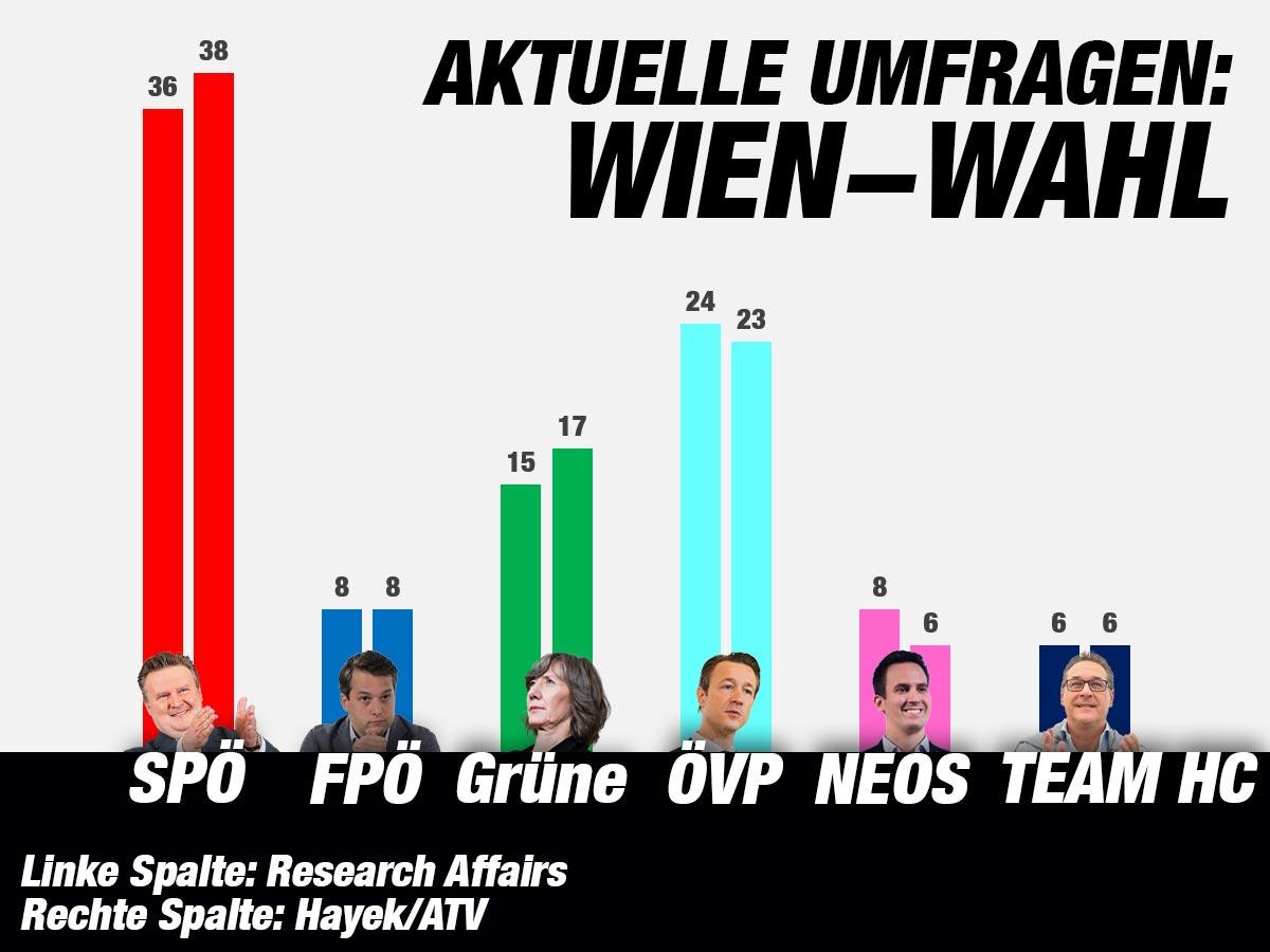 Umfragen Wien