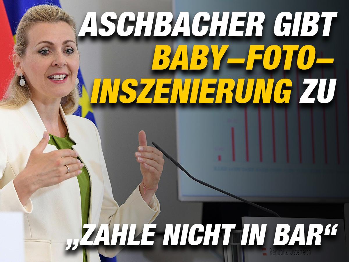 Aschbacher Gibt Baby Foto Inszenierung Zu Zahle Nicht In Bar Zackzack At